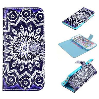 design especial caso fólio novidade couro pu desenho ou padrão colorido coldre para 6s iphone 6 / iphone