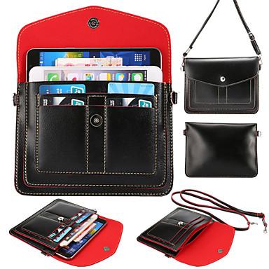 cartões multicamada pacote carteira diagonal para 6s iphone plus / 6 mais