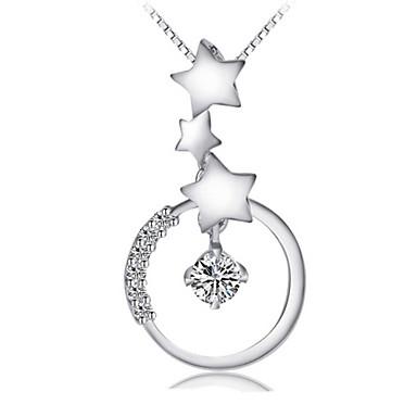 Dames Vorm Hangers Sterling zilver Hangers Bruiloft Feest Dagelijks Causaal Kostuum juwelen