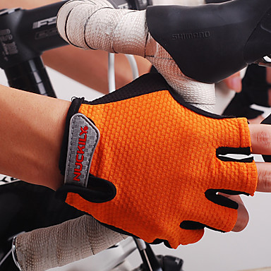 Nuckily Sports Gloves Bike Gloves / Cycling Gloves Moisture Permeability / Wearable / Breathable Fingerless Gloves Nylon Racing / Cycling