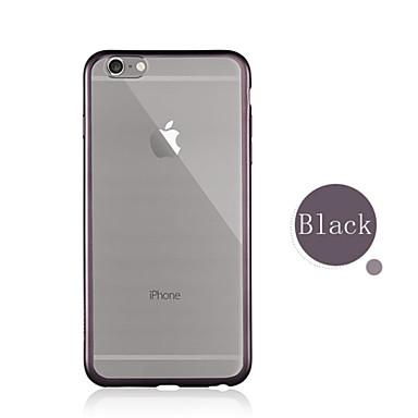 6s 04794010 6 6s Per per iPhone Per retro TPU Transparente Apple iPhone Tinta Morbido Plus unica 6 Placcato Custodia iPhone 6 iPhone iPhone Plus dgTTwqXx