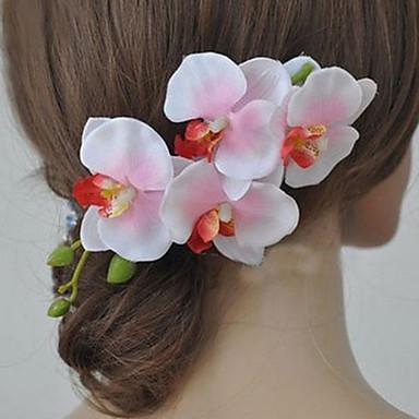 Dagelijks / Causaal - Haarbanden (Stof , Lichtroze / Wit / Rood / Paars)