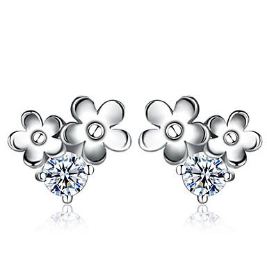 Dames Oorknopjes Sterling zilver Sieraden Bruiloft Feest Dagelijks Kostuum juwelen