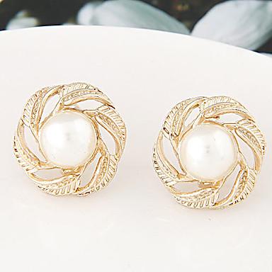 Dames Oorknopjes Kostuum juwelen Imitatieparel Legering Sieraden Voor Bruiloft Feest Dagelijks Causaal
