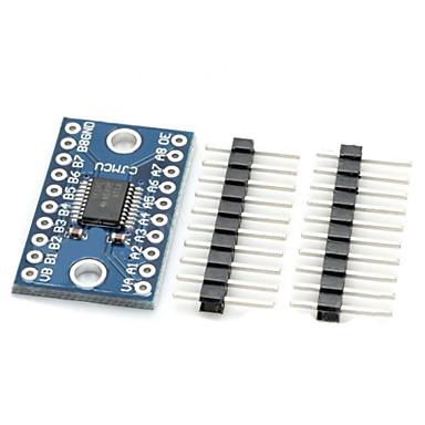 txs0108e alta velocidade full duplex 8-ch placa do módulo interruptor de nível - azul