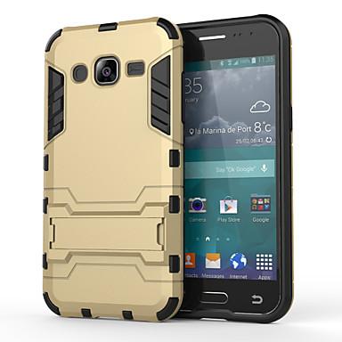 Voor Samsung Galaxy hoesje Schokbestendig / met standaard hoesje Achterkantje hoesje Pantser PC Samsung J5
