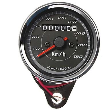 motocicleta hodômetro do velocímetro medidor de calibre cor dupla luz de fundo LED