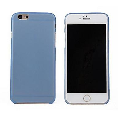Maska Pentru Apple iPhone 6 iPhone 6 Plus Ultra subțire Transparent Capac Spate Culoare solidă Greu PC pentru iPhone 6s Plus iPhone 6s
