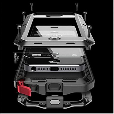 urti 7 iPhone Per Resistente sporco Resistente Custodia di Armatura Apple prova per Per Resistente iPhone 7 iPhone iPhone agli iPhone 7 Metallo 6 retro Plus A iPhone Plus all'acqua Plus 01473592 7 xF7qxHA