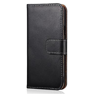 Για Samsung Galaxy Θήκη Θήκη καρτών / με βάση στήριξης / Ανοιγόμενη / Μαγνητική tok Πλήρης κάλυψη tok Μονόχρωμη Συνθετικό δέρμα Samsung A5