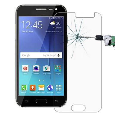 à prova de explosão prémio tela de cinema cesto de proteção de vidro temperado 0,3 mm arco membrana endurecida para Samsung Galaxy j2