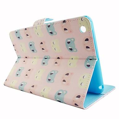 Capinha Para iPad Mini 3/2/1 Porta-Cartão Com Suporte Capa Proteção Completa Desenho Animado PU Leather para iPad Mini 3/2/1