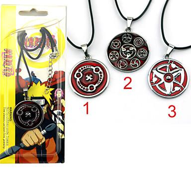 Sieraden geinspireerd door Naruto Cosplay Anime Cosplay Accessoires Kettingen Rood Legering Mannelijk