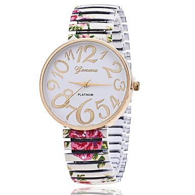 preiswerte Damen Uhren-Xu™ Damen Uhr Armbanduhr Quartz Legierung Schwarz / Weiß / Grün Armbanduhren für den Alltag Analog damas Charme Modisch Schwarz Grün Rosa