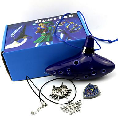 Meer Accessoires geinspireerd door The Legend of Zelda Cosplay Anime/ Computer Games Cosplay Accessoires Meer Accessoires Inktblauw