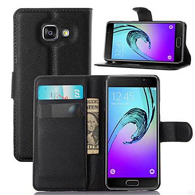 Para Samsung Galaxy Capinhas Porta-Cartão / Com Suporte / Flip / Magnética Capinha Corpo Inteiro Capinha Cor Única Couro PU Samsung