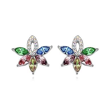 Dames Oorknopjes Kostuum juwelen Kristal Sieraden Voor Bruiloft Feest Dagelijks Causaal