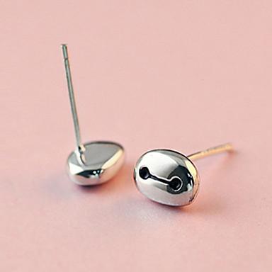 Druppel oorbellen Sterling zilver Imitatieparel Zilver Gouden Sieraden Voor Bruiloft Feest Dagelijks Causaal Sport 1 stuks