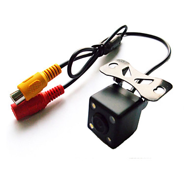 170° Mini CCD Reversing Backup Car Front Rear View Camera Night Vision 12V