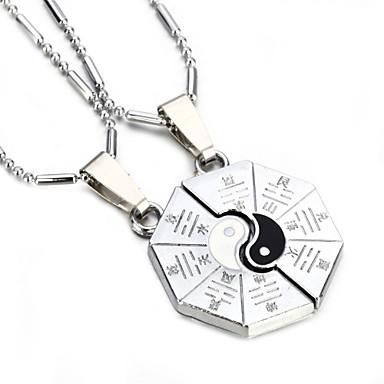 Kettingen Hangertjes ketting Sieraden Bruiloft / Feest Legering Zilver 1 paar Geschenk