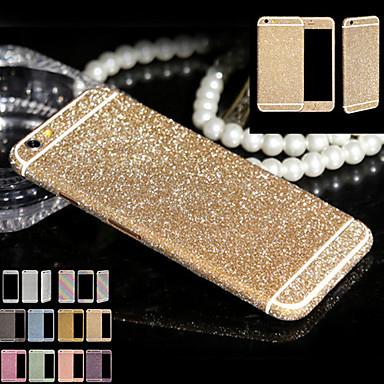 full body glitter voor iphone6 / 6s plus glanzende telefoon sticker geval fonkelende diamanten film decals (verschillende kleuren)