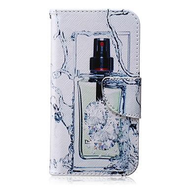 Para Samsung Galaxy Capinhas Carteira / Porta-Cartão / Com Suporte / Flip Capinha Corpo Inteiro Capinha Mulher Sensual Couro PU SamsungJ7