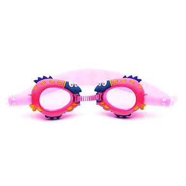Óculos de Natação Anti-Nevoeiro Prova-de-Água silica Gel PC Vermelho Rosa Azul Azul Escuro Vermelho Rosa Azul Azul Escuro