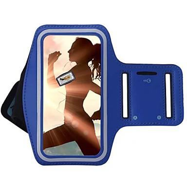 voordelige Universele hoesjes & tasjes-hoesje Voor Universeel S8 Plus / S8 / S7 edge met venster / Armband Armband Effen Zacht tekstiili