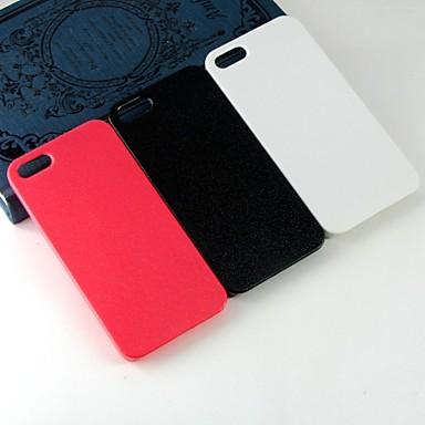 Capinha Para iPhone 5 / Apple Capinha iPhone 5 Estampada Capa traseira Sólido Rígida PC para iPhone SE / 5s / iPhone 5