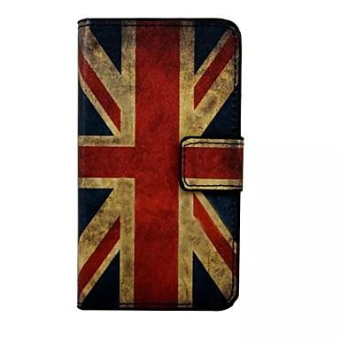Para Samsung Galaxy Capinhas Carteira / Porta-Cartão / Com Suporte / Flip Capinha Corpo Inteiro Capinha Bandeira Couro PU Samsung S7