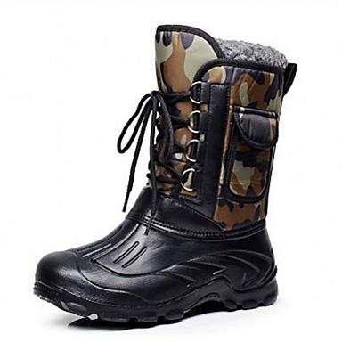신발을 사냥 새로운 남성의 야외 방수 스노우 부츠 낚시 신발
