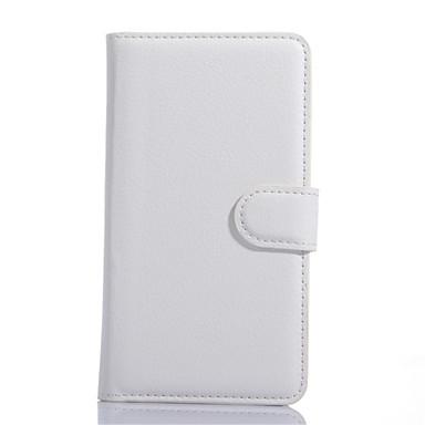 용 LG케이스 카드 홀더 / 지갑 / 스탠드 / 플립 케이스 풀 바디 케이스 단색 하드 인조 가죽 LG