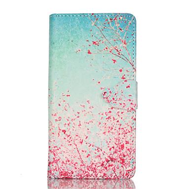 Capinha Para Samsung Galaxy Samsung Galaxy Capinhas Porta-Cartão Com Suporte Flip Estampada Magnética Corpo Inteiro Flor PU Leather para
