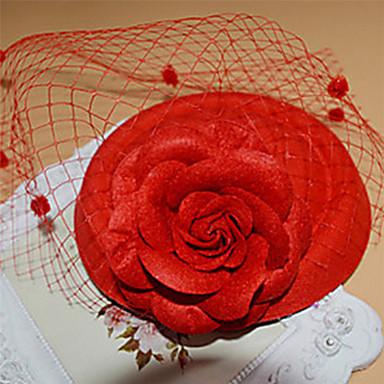 ieftine Bijuterii de Păr-Pentru femei Vintage Elegant Dantelă Agrafe de păr Fascinators Στεφάνια Nuntă Petrecere