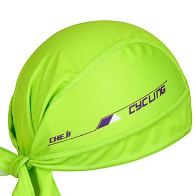 cheji® Kerékpáros sapka Headsweat Tél Tavasz Nyár Ősz Gyors szárítás Ultraibolya biztos Rovartaszító Antisztatikus Légáteresztő Fényvédő