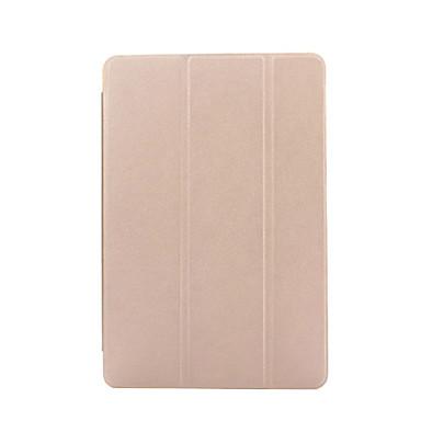 케이스 제품 아이 패드 4/3/2 스탠드 자동 슬립 / 웨이크 기능 오리가미 전체 바디 케이스 한 색상 PU 가죽 용 iPad 4/3/2