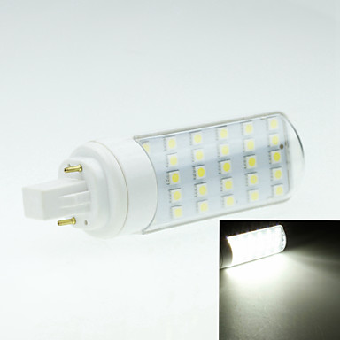 4W G24 LED betűzős izzók Forgatható 30 led SMD 5050 Dekoratív Meleg fehér Hideg fehér 250-300lm 2800-3200 6000-6500K AC 85-265V