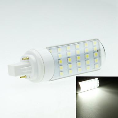 4W G24 LED Bi-pin 조명 회전 가능 30 LED가 SMD 5050 장식 따뜻한 화이트 차가운 화이트 250-300lm 2800-3200 6000-6500K AC 85-265V