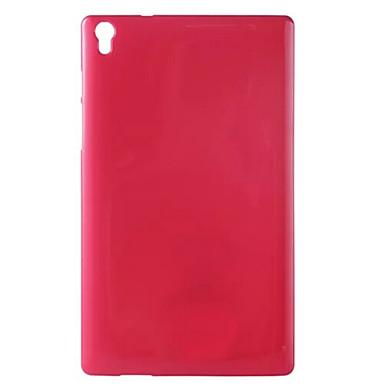 Capinha Para Lenovo Capa traseira Tablet Cases Côr Sólida Macia TPU para
