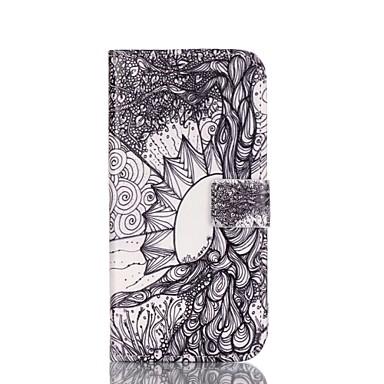 Para Samsung Galaxy Capinhas Estampada Capinha Corpo Inteiro Capinha Flor Couro PU Samsung A5(2016) / A3(2016)