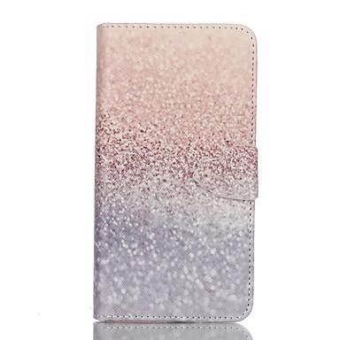 Para Samsung Galaxy Capinhas Case Tampa Carteira Porta-Cartão Com Suporte Flip Corpo Inteiro Capinha Glitter Brilhante Couro Ecológico