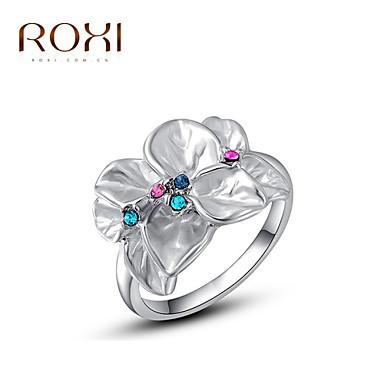 Gyűrűk Divat Esküvő Ékszerek Ötvözet Női Vallomás gyűrűk 1db,Egy méret Aranyozott