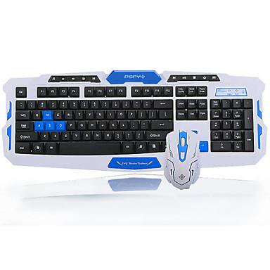 hoogwaardige draadloze toetsenbord 1600dpi muis batterij en muismat set vier stukken een set