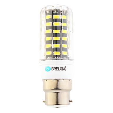 7W B22 LED 콘 조명 T 64 SMD 600 lm 따뜻한 화이트 차가운 화이트 AC 220-240 V 1개