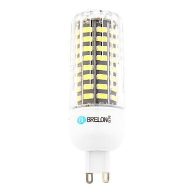 9 W 800 lm G9 LED kukorica izzók T 80 led SMD Meleg fehér Hideg fehér AC 220-240V