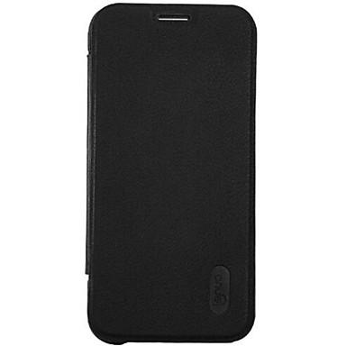 Mert Samsung Galaxy tok Kártyatartó / Flip Case Teljes védelem Case Egyszínű Műbőr Samsung S7