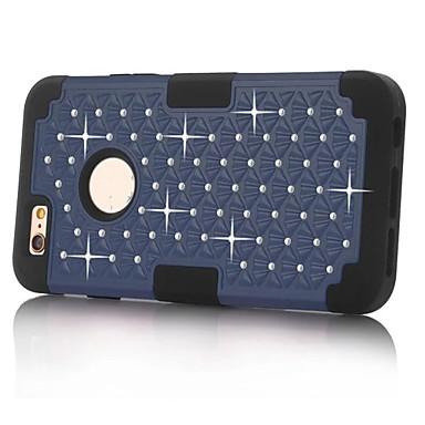 Mert iPhone 5 tok Ütésálló / Strassz Case Hátlap Case Páncél Kemény PC iPhone SE/5s/5