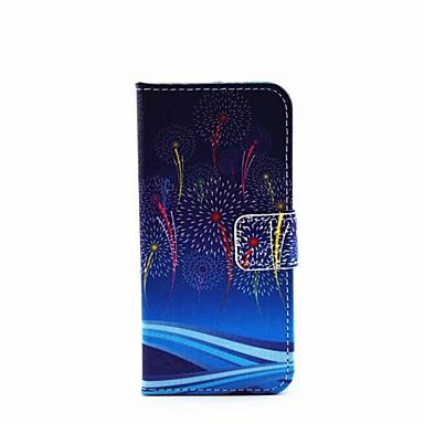 hoesje Voor iPhone 6 iPhone 6 Plus Portemonnee Kaarthouder met standaard Flip Patroon Volledige behuizing Landschap Hard PU-leer voor