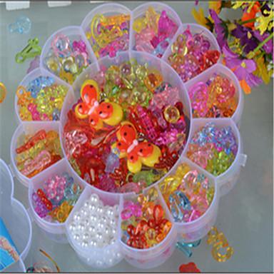 nagy szilva átlátszó kristály gyermekek diy gyöngyök kötés játékok színes akril gyöngyök oktatási gyöngy
