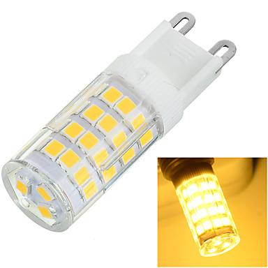 G9 LED Bi-pin 조명 매립형 레트로핏 51 LED SMD 2835 장식 따뜻한 화이트 차가운 화이트 400-500lm 3500/6500K AC 220-240V